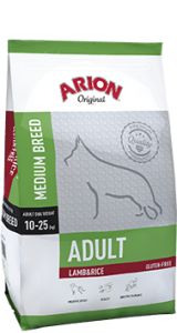 Arion Original Adult Medium Lamb & Rice 3 kg