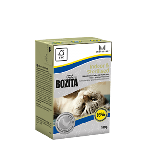 Bozita Indoor&Sterilised w galaretce 190g