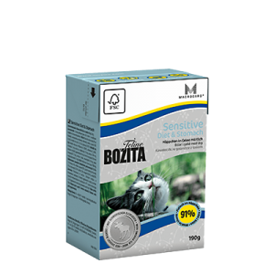 Bozita Sensitive Diet& Stomach w galaretce 190g