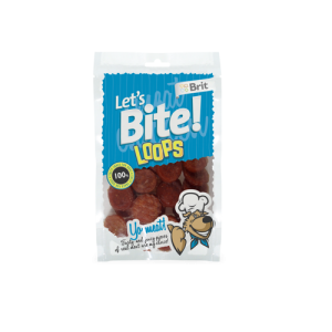 Brit Let's Bite Loops 80g