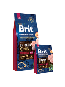 Brit Premium By Nature Senior L+XL 15kg