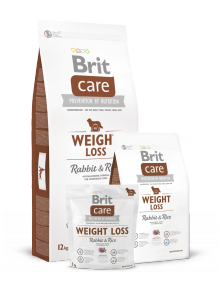 Brit Care Weight Loss królik z ryżem 3kg
