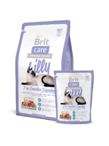 Brit Care Cat Lilly Sensitive Digestion jagnięcina z łososiem 0,4kg